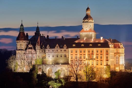 Zamek Książ - Atrakcje Wałbrzycha