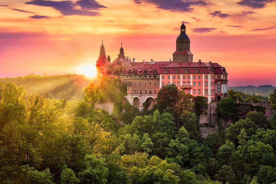 Zamek Książ - Atrakcje Dolnego Śląsk
